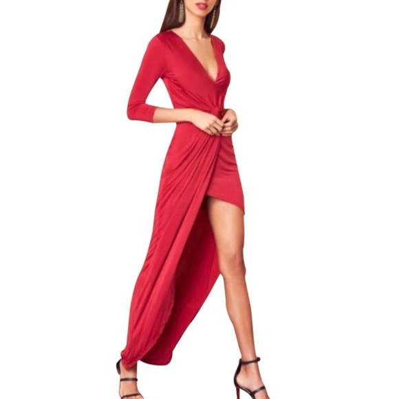 Lovers + Friends Dresses & Skirts - Lovers + Friends Red Sexy Maxi Dress REVOLVE